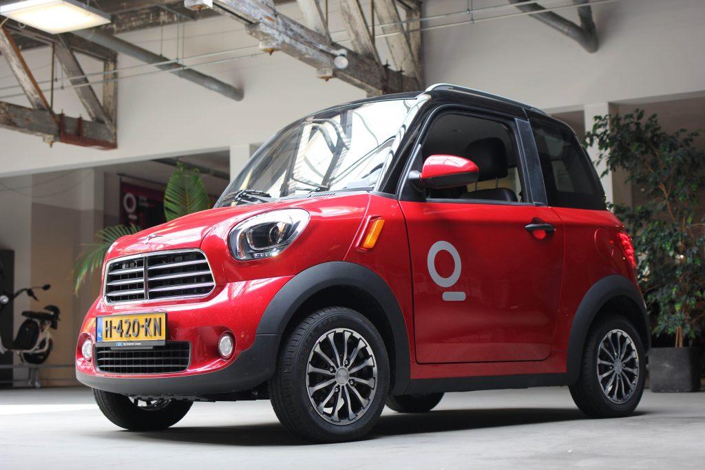 Flinc-EV Travel M2 Koop of Lease - Rode auto