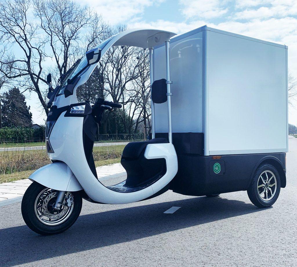 Flinc-EV Cargo_TukTuk Rap Lease/Koop